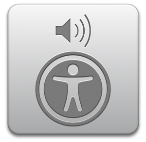 Voice Over Utility logo from Apple