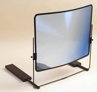 Large magnifier for enlarging print